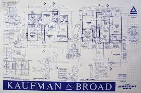 blueprint for houses blueprint of simpsons house homes zone