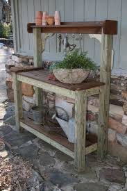 Inexpensive Potting Bench by The 25 Best Potting Bench Plans Ideas On Pinterest Garden Bench