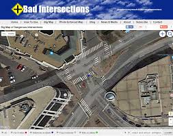Google Map Virginia by Bad Intersections Google Maps Show Obvious Dangerous Pedestrian