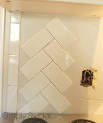 Tumbled Marble Kitchen Backsplash Subway Tile Back Splash In A Glass Mosaic Tile Flooring Tumbled