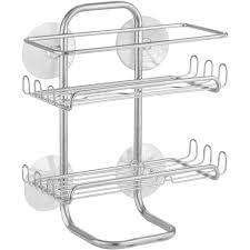 interdesign classico suction shower shelves walmart com
