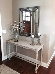 small entry way restored console table decor from world market