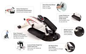 Under Desk Pedal Exerciser Under Desk Bike U0026 Elliptical Reviews And Buyer U0027s Guide