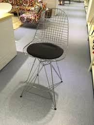 Wohnzimmer Bar Beleuchtet Minimalistischen Modernen Design Metall Stahl Draht Bar Stuhl