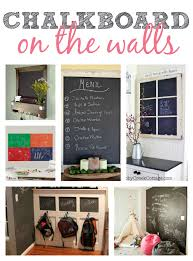 chalkboard in kitchen ideas chalkboard ideas on the walls this s crafty