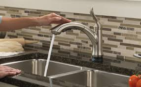 linden pull down kitchen faucet with touch2o technology