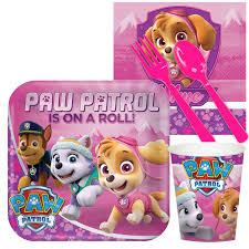 pink paw patrol snack party pack birthdayexpress