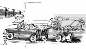 animated wrecked car car crash cartoons and comics funny pictures from cartoonstock