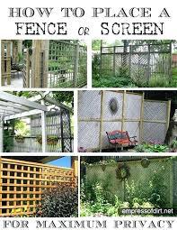 Garden Privacy Screen Ideas Privacy Garden Fences Hydraz Club