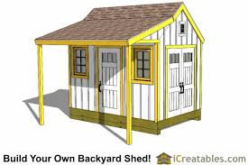 How To Build A Shed From Scratch by 8x12 Shed Plans Buy Easy To Build Modern Shed Designs