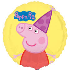 peppa pig party peppa pig party hat foil balloon peppa pig balloons