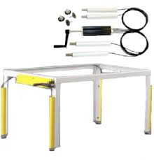build adjustable table legs hydraulic lift lift systems for tables benches desks