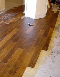 is vinyl flooring or bad bad installation cannot get worse