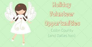 volunteer opportunities we are collin county