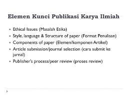 artikel format paper ilmiah karya ilmiah untuk publikasi ppt download