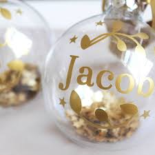 personalised first christmas decorations u2013 decoration image idea