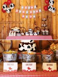 Cowboy Table Decorations Ideas Cowboy Baby Shower Decoration Ideas Olena Design