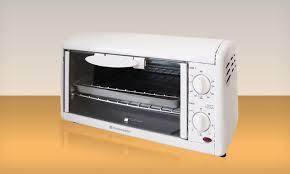 Toastmaster Toaster Toastmaster 4 Slice Toaster Oven Broiler Groupon