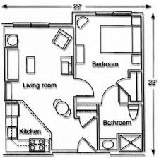 Best  Studio Apartment Floor Plans Ideas On Pinterest Small - One bedroom apartment designs example