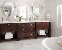 furniture decorative bathroom decor white wooden bath vanity