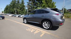 used lexus rx 350 for sale in seattle wa 2012 lexus rx 350 satin cashmere metallic cc138229 seattle
