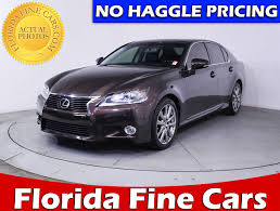 lexus is for sale miami used 2013 lexus gs 350 luxury sedan for sale in miami fl 84996