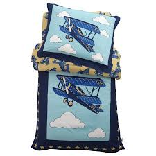 Airplane Bedding Sets by Kidkraft Airplane Toddler Bedding Set Walmart Com