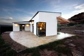 southwestern home designs contemporary shed roof home designs exterior southwestern with