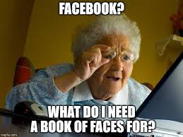 What Is A Meme On Facebook - grandma finds the internet meme imgflip
