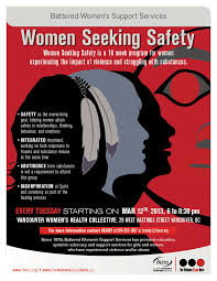 Seeking Poster Battered S Support Services Seeking Safety Bwss