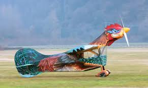 the aviationist the flying rooster proves even weird planes