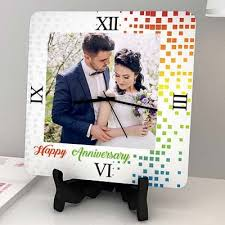 personalized anniversary clocks clocks