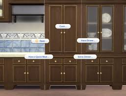 mod the sims fitted country kitchen cupboard
