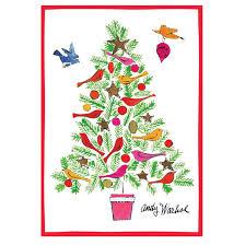 andy warhol tree cards