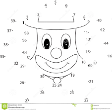 puzzle game for kids clown royalty free stock image image