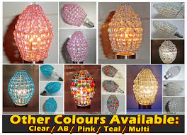 Aurora Chandelier Chandelier Inspired Moroccan Chic Look Glass Bead Light Bulb