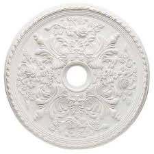 White Ceiling Lights Medallions Ceiling Lighting Accessories The Home Depot
