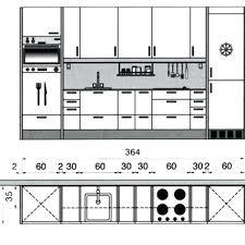 plan amenagement cuisine gratuit plan cuisine design de maison