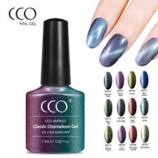 cco nail gel impress classic temperature changing chameleon