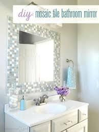 How To Build A Frame Around A Bathroom Mirror 10 Diy Ways To Up Builder Grade Basics Builder Grade