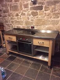 Varde Ikea Kitchen Island Ikea Varde Freestanding Oven Unit With Stainless Steel Top In