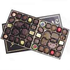 assorted gift boxes fancy black gold gift box assorted chocolate