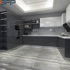 european style modern high gloss kitchen cabinets china australian black high gloss lacquer kitchen cabinet
