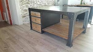 table de cuisine bois table cuisine style industriel table cuisine style industriel table
