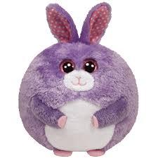 lilac purple bunny birthday march 15 beanie boos