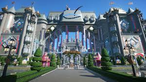 Castle Blueprint Planet Coaster Castle Plaza With Shops Album On Imgur