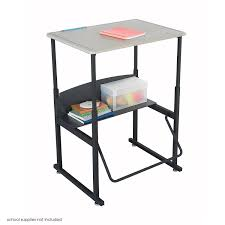 Desks For High School Students by Amazon Com Safco Products 1201be Alphabetter Stand Up Desk With