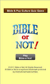 bible or not bible quiz android apps on play