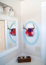 hair accessory organizer project kid s bathroom diy antler hair accessory organizer