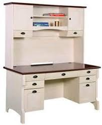 White Desk With Hutch And Drawers Ubiz Furniture Genx White Credenza Desk Hutch Cta820 5cw